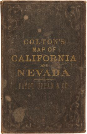 COLTON'S CALIFORNIA AND NEVADA.