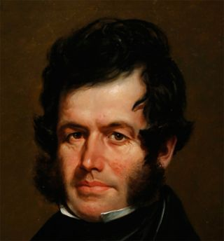 [OIL PORTRAIT OF MAJOR BENJAMIN O'FALLON].
