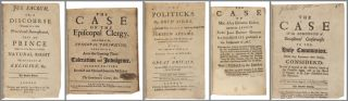 FIVE SAMMELBANDS CONTAINING FORTY-ONE PAMPHLETS ON POLITICAL AND RELIGIOUS AFFAIRS IN LATE 17TH...