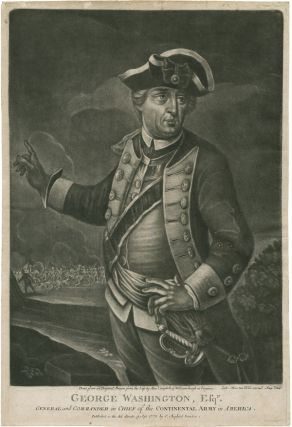 COLLECTION OF EIGHT MEZZOTINT PORTRAITS OF AMERICAN OFFICERS AND LEADERS OF THE REVOLUTION]....