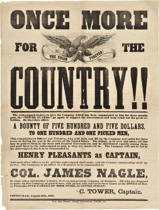 ONCE MORE FOR THE COUNTRY!! [caption title]. Civil War, Pennsylvania