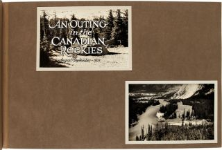 [THREE LARGE PHOTOGRAPH ALBUMS CONTAINING OVER SIX HUNDRED PHOTOGRAPHS OF ALASKA AND THE CANADIAN ROCKIES DURING THE 1930s, COMPILED BY AUTHOR WILLIAM N. BEACH].