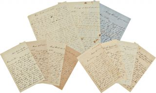 SMALL ARCHIVE OF CIVIL WAR CORRESPONDENCE FROM PVT. HENRY D. ISBELL, 1st OHIO LIGHT ARTILLERY,...