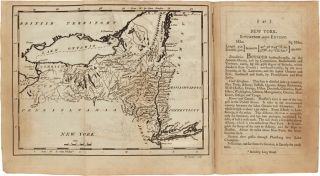 CAREY'S AMERICAN POCKET ATLAS: CONTAINING THE FOLLOWING MAPS, VIZ. Mathew Carey
