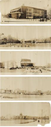 [LARGE-FORMAT PANORAMIC PHOTOGRAPH OF THE INTERNATIONAL GOVERNMENT ZONE OF THE 1939 NEW YORK WORLD'S FAIR].