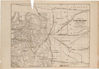 COLORADO: UNITED STATES, AMERICA. ITS HISTORY, GEOGRAPHY, AND MINING. INCLUDING A COMPREHENSIVE CATALOGUE OF NEARLY SIX HUNDRED SAMPLES OF ORES.