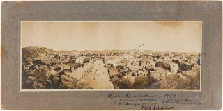 NOGALES, ARIZONA AND MEXICO 1909 [manuscript title]. Arizona Photographica