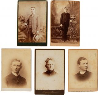 ARCHIVE OF CORRESPONDENCE AND PHOTOGRAPHS TO AND FROM MULTIPLE GENERATIONS OF THE HANCOCK FAMILY...