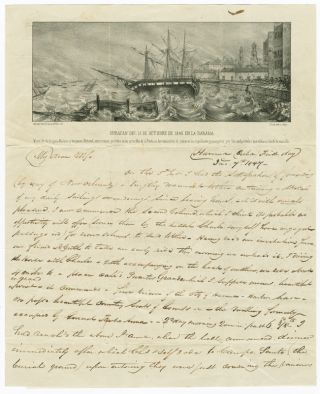 SUBSTANTIAL AND DETAILED AUTOGRAPH LETTER, SIGNED, FROM M.L. DAWSON, A PHILADELPHIA MERCHANT &...