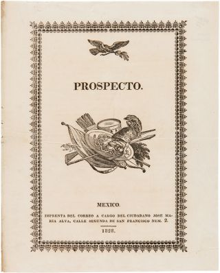 PROSPECTO [wrapper title]. Theubet de Beauchamp