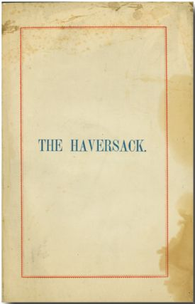 THE HAVERSACK. Civil War Literature