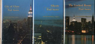 THE NEW YORK TRILOGY] CITY OF GLASS [with:] GHOSTS [with:] THE LOCKED ROOM. Paul Auster