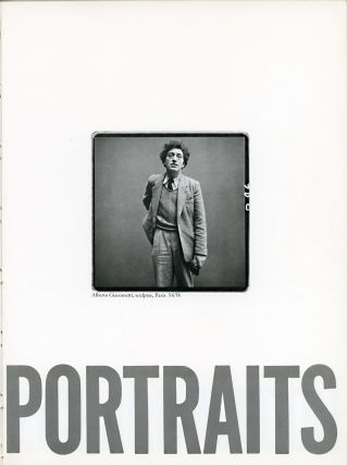 PORTRAITS. Richard Avedon