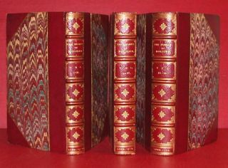 THE WORKS OF MONSIEUR DE MOLIERE. IN SIX VOLUMES. Moliere, Jean-Baptiste Poquelin