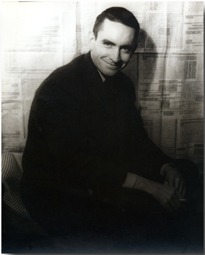 ORIGINAL PORTRAIT PHOTOGRAPH OF EDWARD ALBEE]. Edward Albee, Carl Van Vechten