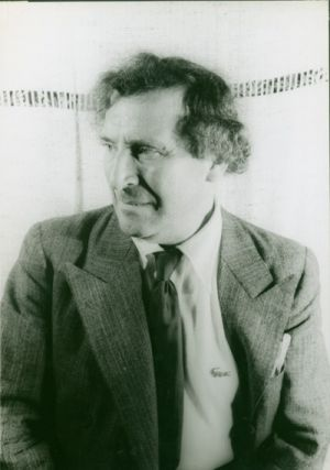 [ORIGINAL PORTRAIT PHOTOGRAPH OF MARC CHAGALL].
