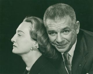 Original Portrait Photograph of Oscar and Dorothy Hammerstein]. Philippe Halsman