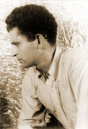 ORIGINAL PORTRAIT PHOTOGRAPH OF NORMAN MAILER]. Norman Mailer, Carl Van Vechten