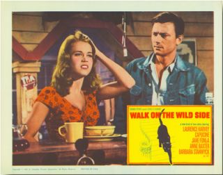 [Group of Seven Color Lobby Cards for:] WALK ON THE WILD SIDE.