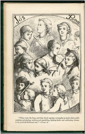 LITTLE MEN: LIFE AT PLUMFIELD WITH JO'S BOYS. Louisa M. Alcott.