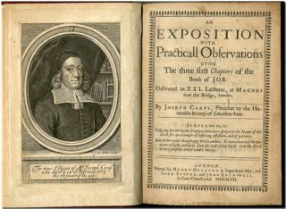 AN EXPOSITION WITH PRACTICALL OBSERVATIONS UPON THE THREE FIRST CHAPTERS OF THE BOOK OF JOB. ...