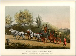 'DOWN THE ROAD' OR REMINISCENCES OF A GENTLEMAN COACHMAN. Henry Alken, C. T. S. Birch Reynardson