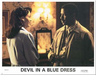 Set of Eight Studio Lobby Cards for:] DEVIL IN A BLUE DRESS. Walter Mosley, Carl Franklin,...