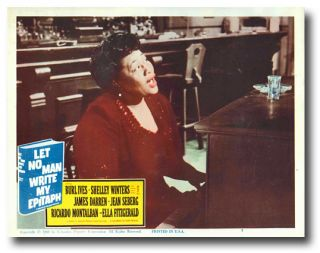 Set of Studio Lobby Cards for LET NO MAN WRITE MY EPITAPH. Willard Motley, sourcework