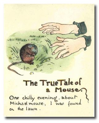 MR. MICHAEL MOUSE UNFOLDS HIS TALE ... REPRODUCED FROM THE ORIGINAL MANUSCRIPT IN THE COLLECTION...
