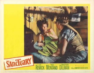 Set of Studio Lobby Cards for:] SANCTUARY. William Faulkner, sourcework