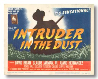 Seven Studio Lobby Cards for:] INTRUDER IN THE DUST. William Faulkner, sourcework