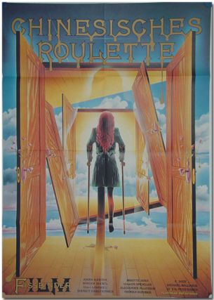 West German Theatrical Poster for:] CHINESISCHES ROULETTE [CHINESE ROULETTE]. screenwriter, director