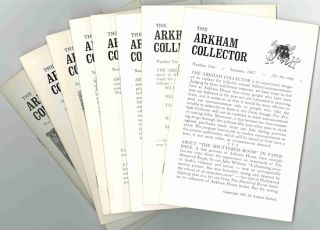THE ARKHAM COLLECTOR. Arkham House