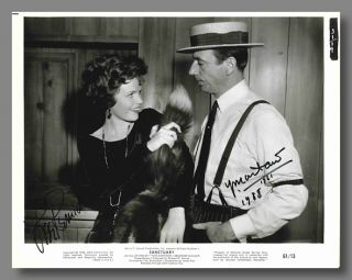 Film Still Signed by Lee Remick and Yves Montand in:] SANCTUARY. William Faulkner, sourcework