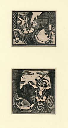 Two Untitled Wood Engravings]. John Austen