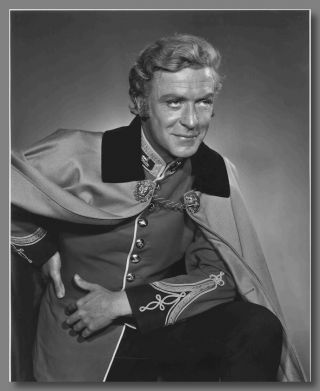 Original Gelatin Silver Print Portrait Photograph of Michael Caine in Character]. Yousuf Karsh