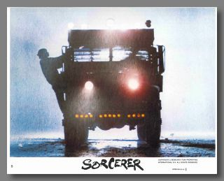Set of Color Mini Lobby Cards for:] SORCERER. Georges Arnaud, sourcework