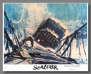 [Set of Color Mini Lobby Cards for:] SORCERER.