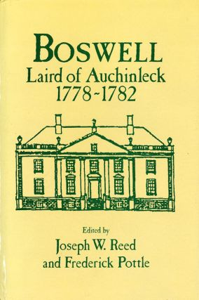 BOSWELL LAIRD OF AUCHINLECK 1778-1789. James Boswell