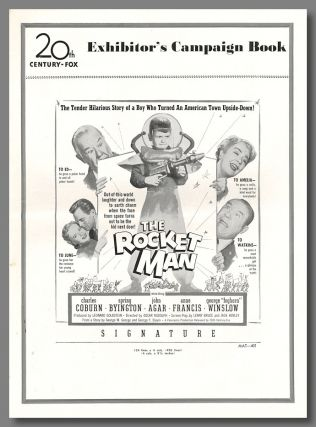 Original Studio Publicity Press Book for:] THE ROCKET MAN. Lenny Bruce, screenwriter