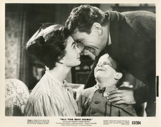 Set of Eleven Studio Publicity Stills for:] ALL THE WAY HOME. James Agee, Philip Reisman, Jr.,...