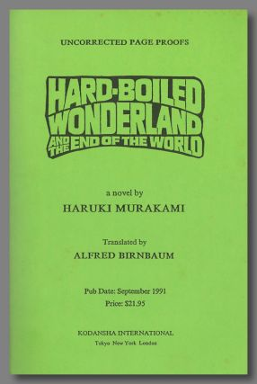 HARD-BOILED WONDERLAND AND THE END OF THE WORLD.