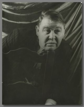 Original Portrait Photograph of Charles Laughton]. Charles Laughton, Carl Van Vechten