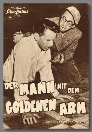 DER MANN MIT DEM GOLDENEN ARM (THE MAN WITH THE GOLDEN ARM). Nelson Algren, sourcework