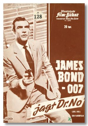 JAMES BOND - 007 JAGT DR. NO [wrapper title]. Ian Fleming, sourcework