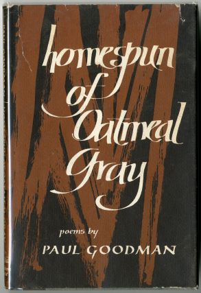 HOMESPUN OF OATMEAL GRAY. Paul Goodman