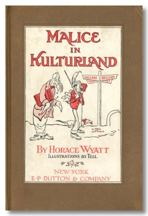 MALICE IN KULTURLAND. Charles L. - Pastiche Dodgson, Horace Wyatt