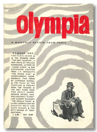 OLYMPIA A MONTHLY REVIEW FROM PARIS. Maurice Girodias, publisher