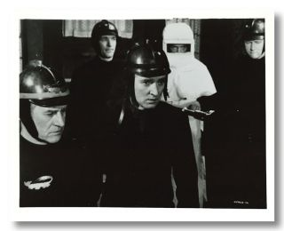 Lot of 17 Black & White Stills for:] FAHRENHEIT 451. Ray Bradbury, director, screenwriter,...