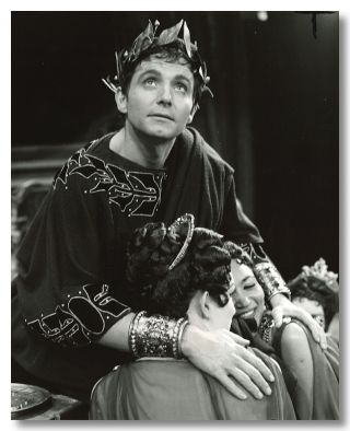 Nine Original Publicity Photographs for:] CALIGULA. Camus. Albert, sourcework